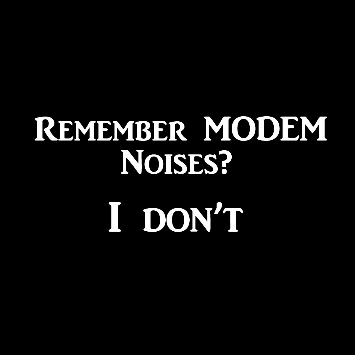 modemNoises